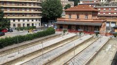Perugia S. Anna, ex-railway station (poprostuflaga) Tags: italia włochy italien italy perugia stacja kolejowa