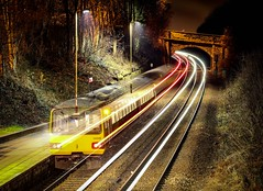 Was it a dream? (Andrew Shenton) Tags: 144005 woodlesford bulb mode long exposure leeds railway train
