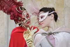 Portrait from Carnevale di Venezia 2019 (Gordon.A) Tags: italy italia venice venezia veneto carnevale carnival venicecarnival carnevaledivenezia carnavaldevenecia carnavaldevenise karnevalinvenedig 2019 venetian veneziano creative costume mask maschere masque design festival event eventphotography culture subculture lifestyle people lady woman face model pose posed posing outdoor outdoors outside wall naturallight colour colours color amateur street portrait portraitphotography digital canon eos 750d