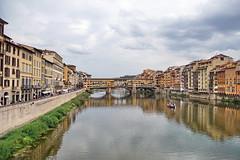 Ponte Vecchio (Yuri Rapoport) Tags: pontevecchio thearnoriver 2016 florence toscana tuscany italy