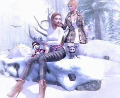 Winter walk (nannja.panana) Tags: belleza birth cncreations catwa collabor88 equal10 genus ikon kinkyevent letredoux luaneposes maitreya scandalize realevil blackbantam