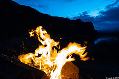 Forms in Fire (Mark Griffith) Tags: ancientlakes annual backpacking camping desert dustylake easternwashington overnighter quincy sonyrx100va traditions washington