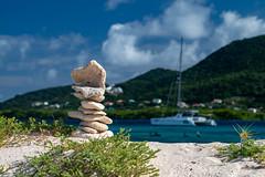 Island Paradise-0641 (islandfella) Tags: siobmpa carriacou grenadines grenada island west indies sandy white boat yacht rocks limestone sea beach green sky travel tourism