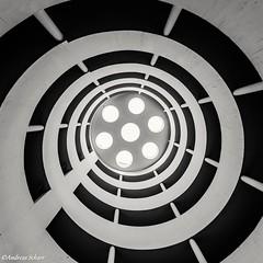 Vienna Car park (andreasscharr) Tags: canon5dmarkiv sigma1224mm beton monochrom vienna wien blackwhite schwarzweiss architektur architecture rund geometrisch