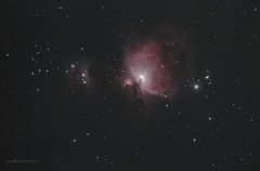 Orion and Running Man Nebulae (Themagster3) Tags: orionnebula orion nebula nebulosity astronomy astrophotography nightsky
