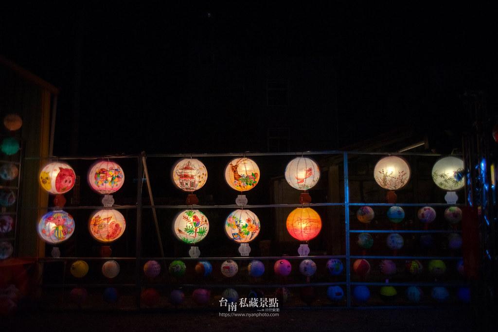 六甲媽祖廟燈會 | 最接地氣的恒安宮花燈-4