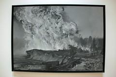 Forest Fire, by Vija Celmins (JB by the Sea) Tags: sanfrancisco california december2018 financialdistrict sanfranciscomuseumofmodernart sfmoma vijacelmins painting