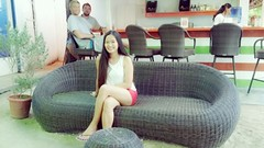 Mom in 2017 (ghostgirl_Annver) Tags: asia asian girl mom teen family beautiful vacation holiday 2017 sofa