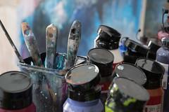 the artist (=Mirjam=) Tags: nikond750 paint painter artist stilllife atelier indoors concept hethuisalsdecor februari 2019