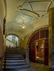 Astorga-Catedral-Escalera hacia el museo (dnieper) Tags: catedraldeastorga escalera astorga león spain españa panorámica