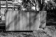 Corrugation (David Redfearn) Tags: mooloomoon moulamein moulameinnsw corrugatediron corrugation iron riverside canon6d canoneos6d canonef1635mm mooloomonshearingshed