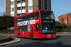 Route 297, Metroline, SEL744, LK07BAO (Jack Marian) Tags: route297 metroline sel744 lk07bao scania scanian230ud n230ud optare olympus optareolympus ealingbroadway willesdenbusgarage buses bus london