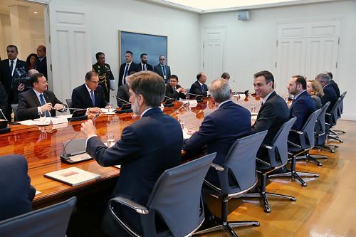 Visita de Estado del presidente de la República del Perú (28/02/2019)