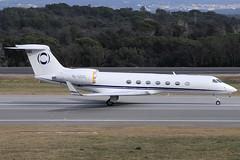 Hampshire Aviation (Ineos) Gulfstream V-SP M-USIC GRO 26/02/2019 (jordi757) Tags: airplanes avions nikon d300 gro lege girona costabrava gulfstream g550 gulfstreamv gv hampshireaviation ineos music