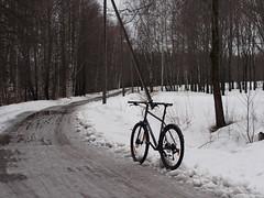 2019 Bike 180: Day 46, March 8 (olmofin) Tags: 2019bike180 finland bicycle polkupyörä lumi melting sulava snow mzuiko 45mm f18