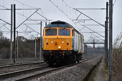 47614 (47853) Hademore (Paul Baxter 362) Tags: class47 47614 47853 brushtype4 brblue 5z76 hademore westcoastmainline wcml