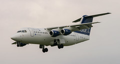 BAe146 | OH-SAL | AMS | 20070902 (Wally.H) Tags: bae146 british aerospace 146 rj85 ohsal blue1 ams eham amsterdam schiphol airport