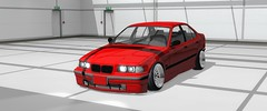Not best quallity, but i am working on it. (Vartotojas) Tags: car cars e36 sedan red mod assetto corsa modding stance