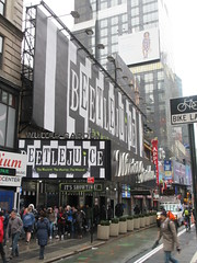 Beetlejuice The Musical Winter Garden Theater Marquee 4369 (Brechtbug) Tags: beetlejuice the musical winter garden theater marquee display 2019 nyc broadway 7th ave 51st street ben cooper halco collegeville monster creature graveyard ghoul dead guy moss hair green stripes fashion mutants villains tim burton film movie 1988 80s 1980s figure hell purgatory beatle beetle juice ghost with most michael keaton possession exorcist betelgeuse exorcism haunt