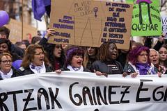 8M, Día Internacional de la Mujer - Bilbao (samarrakaton) Tags: samarrakaton 2019 bilbao bizkaia nikon d750 mujer lucha manifestacion 70200 8m díainternacionalmujer reivindicación