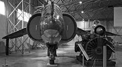 B&W P1127 & LIGHTNING EAST FORTUNE (toowoomba surfer) Tags: jet aeroplane aircraft aviation museum airmuseum aviationmuseum