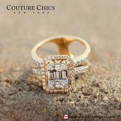 0.73Ct Diamond Pave Designer Cocktail Ring 18K Yellow Gold Wedding Fine Jewelry (couturechics.facebook1) Tags: 073ct diamond pave designer cocktail ring 18k yellow gold wedding fine jewelry