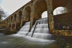 Byrd Creek Dam (yukabuk1) Tags: dam cumberlandmountainstatepark tnstateparks water creek streams longexposure