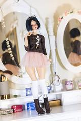 Dressing Room ♥ (koalakrashdolls) Tags: angel philia angelphilia koalakrash koala krash bjd doll dolls pinkdrops yamato obitsu tan lovely cute toy balljointeddoll