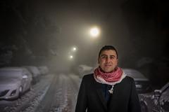 DSC_8750 (Mashhour Halawani) Tags: snow amman jordan samer salhi ali obiedat portrait lowlight low light
