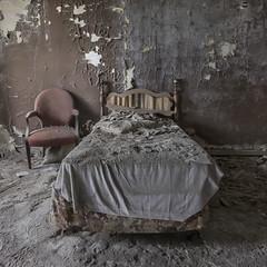 Sweet Dreams (Ewski Images) Tags: abandoned hotel bedroom urbex exploreeverything beautyindecay rural rurex