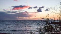 TorreArchirafiAlba-2 (JoySadaro) Tags: alba arancio blue cloud dawn mare nuvole orange sea sun
