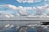 Timeless mirrors (Behappyaveiro) Tags: mirror costanovadoprado costanovabeach aveiro portugal ílhavo europa riadeaveiro river ria céu sky bluesky céuazul pier seagull reflection blue water cloud canon eos500d horizon
