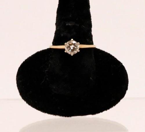 14kt. Diamond Wedding Ring with Diamond Band ($1,736.00)