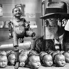 Everbleak Sexual Health Clinic, Winter 1948. (Flamenco Sun) Tags: ward old retro bizarre strange disturbing weird surrealist surreal hospital clinic asylum venereal
