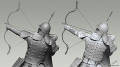 Medieval Mongol Rider (ADNIETOartist) Tags: medieval warrior mongol rider soldier riding traditional armor weapons maya zbrush art artist characterdesign character design cgi cgarts cgart cg digitalart 3d 3dart artofadriananieto artofadnieto