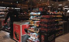 At the checkout (frankdorgathen) Tags: banal alltag mundane xf10 fujifilm ruhrpott ruhrgebiet süd südviertel essen business menschen people einkaufen shopping lebensmittel groceries supermarkt supermarket kasse checkout