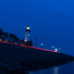 The Lighthouse of Urk after Sunset thumbnail