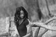 Over the shoulder (Litratistica Images NYC) Tags: monochromatic portrait winter alexis headshots earldolphy blackbeauty canon5dmark2 blackgirlmodel canonef70200mm model portraits litratisticaimages landscape blackmodel people ebonygirl blackgirl outdoor streetphotographer usa relaxing ebonysister monochrome centralpark fashion streetphotography newyorkcity dolphy individuals park modeling blackandwhite nyc
