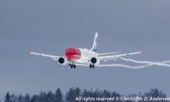 SE-RTB (2) (Christoffer Andersen) Tags: norwegian norwegianairshuttle boeing b737 b7378max max osl osloairportgardermoen gardermoen passengerplane airplane aircraft planespotting