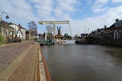 20190308 04 Burdaard (Sjaak Kempe) Tags: 2019 lente sjaak kempe sony dschx60v nederland netherlands niederlande fryslân friesland burdaard brug molen