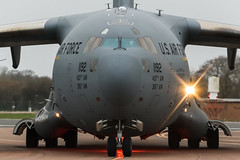 C17 (Nick Collins Photography, Thanks for 3.6 million v) Tags: boeing c17 globemaster usaf usa raf fairford canon aircraft aviation flying military