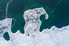 Cracked (Matt Champlin) Tags: wastingmytime default cracked ice life love outdoors drone lake frozen march winter dji djiphantom4 2019 time sigh