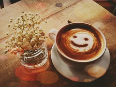 Happy Coffee Café at Patrington, East Yorkshire ,England. (pitkin9) Tags: makemesmile café patrington eastyorkshire coastal nearwithernsea england cappuccino excellent friendlystaff welcoming
