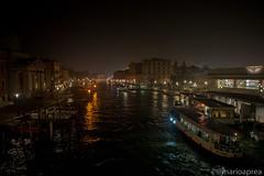 Venice night with colors (Mario Aprea) Tags: italy street canalgrande river night carnevale city venezia citta