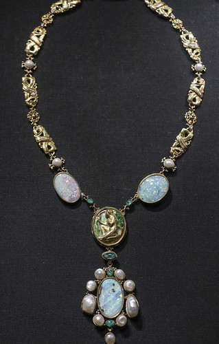 Necklace, England, about 1905, designed by Henry Wilson, made in his london workshop