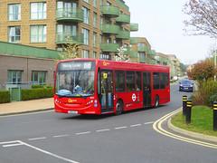 GAL SE55 - YX60DXT - TUDWAY ROAD KIDBROOKE - SAT 30TH MAR 2019 (Bexleybus) Tags: tudway road kidbrooke village ferrier se3 estate go ahead goahead london central adl dennis enviro 200 tfl route b16 se55 yx60dxt