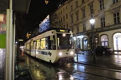 2015-11-15 WLB Tramway Nr.413 (beranekp) Tags: austria österreich wien tramway tram tramvaj tranvia strassenbahn šalina elektrika električka wlb 413