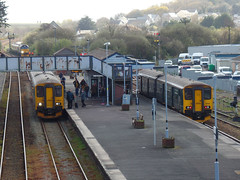 150244 & 150247 Par (Marky7890) Tags: 150244 2p92 gwr 150247 class150 sprinter 2n08 par railway cornwall cornishmainline train