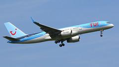 IMG_6105 G-BYAY (biggles7474) Tags: egkk lgw london gatwick airport gbyay boeing 757 b752 b757204 tui fly