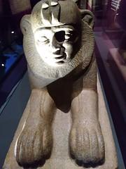 UK - London - Bloomsbury - British Museum - Sphinx of King Taharqo of Kush and Egypt (JulesFoto) Tags: uk england london britishmuseum assyria sculpture sphinx